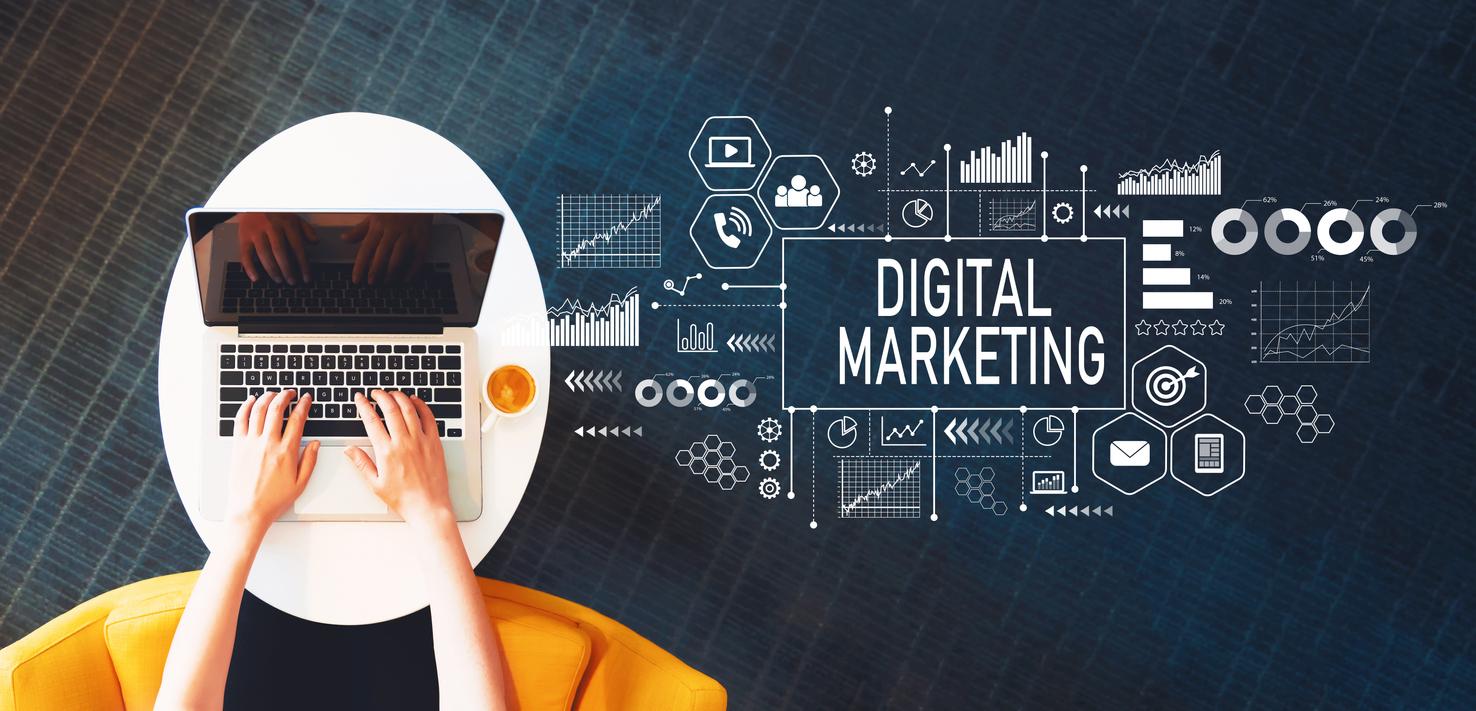 Digital marketing   Thiết kế web app